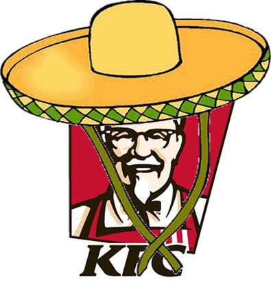 Colonel Sanders Strikes again! Now he's targeting Latinos!