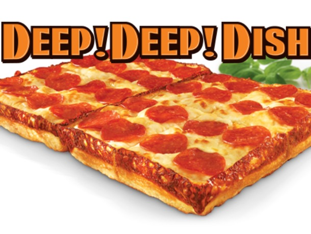 Little Caesars adds Deep! Deep! Dish Pizza