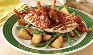 Applebees-Honey-Pepper-Chicken-Shrimp