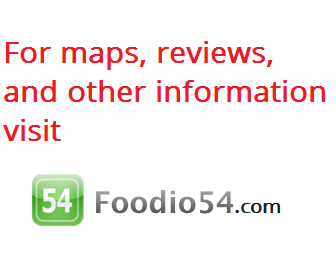 Map of Cafe de Paris Restaurant