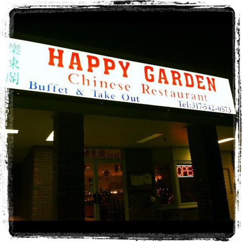 Happy Garden Chinese Restaurant In Indianapolis In 5532 East Fall Creek Parkway North
