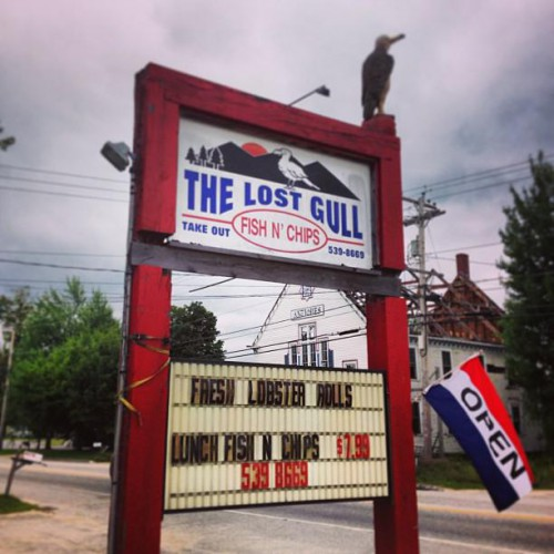 Lost Gull Fish & Chips in Oxford, ME