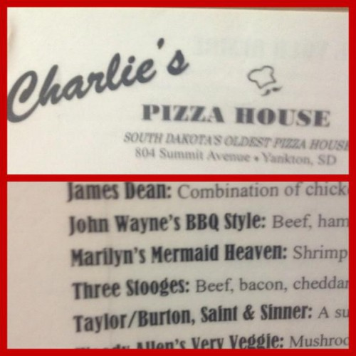 Charlie's Pizza House in Yankton, SD