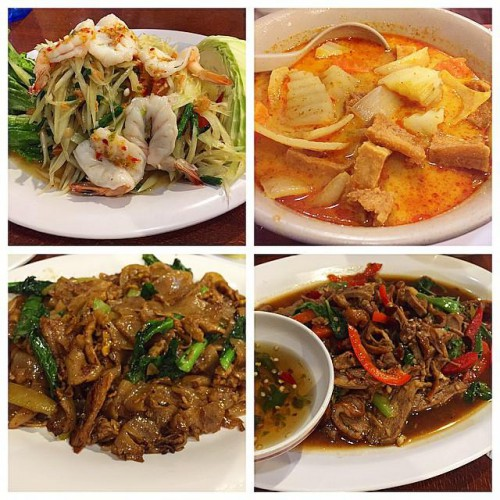Ruen pair restaurant in los angeles ca 5257 hollywood for Authentic thai cuisine los angeles