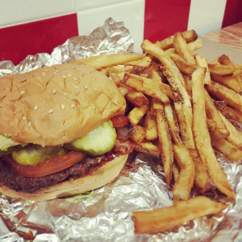 Five Guys Burgers And Fries in West Vancouver, BC