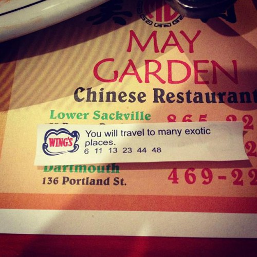 May Garden Chinese Restaurant in Halifax, NS