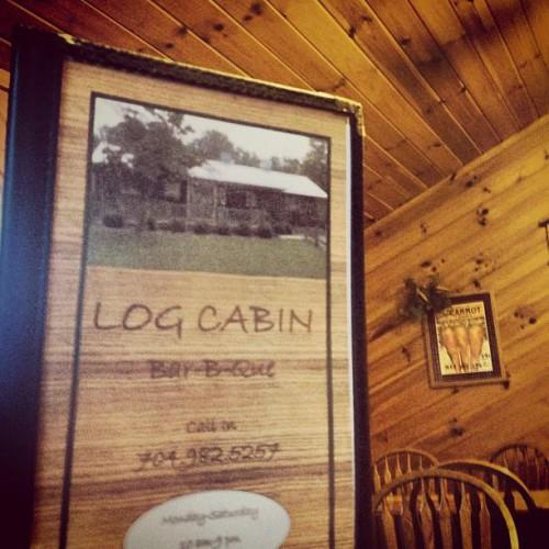 Log Cabin Bar-B-Que in Albemarle, NC