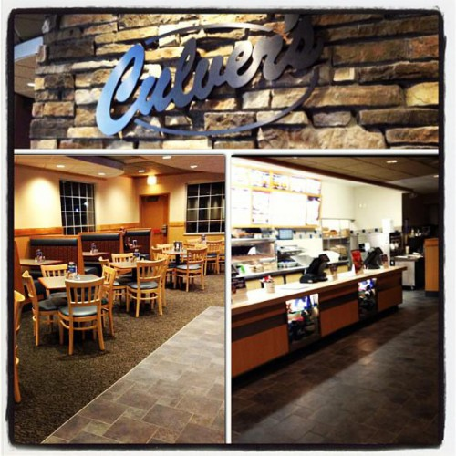 Culvers Restaurant In Waupun Wi 900 Kelly Avenue Foodio54