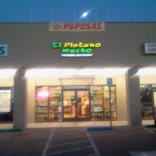 El Platano Macho Pupuseria Restaurant In Perris Ca