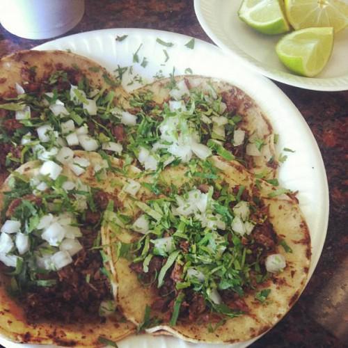 Tacos El Negro in South Gate, CA
