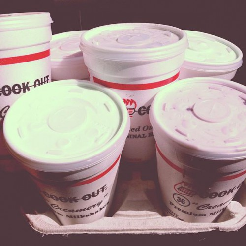 Cook Out in Cary, NC