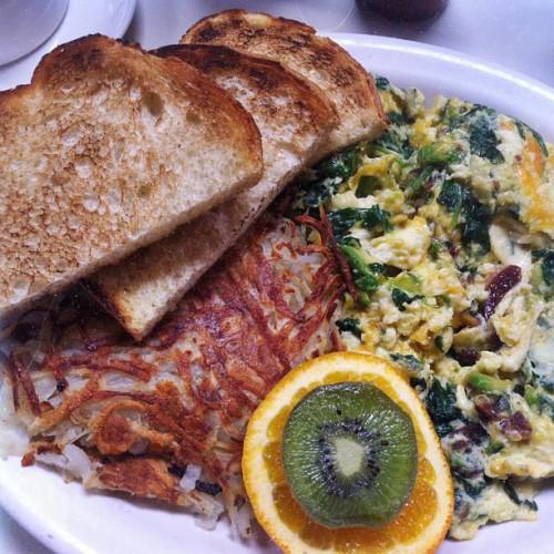 Half Day Cafe Kentfield Ca