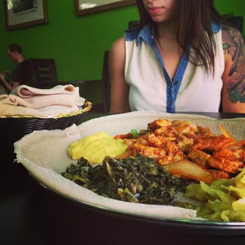 Abol restaurant in washington dc 4422 georgia ave nw for Abol ethiopian cuisine