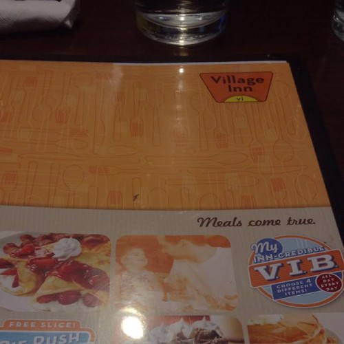 Village Inn Restaurant in Denver, CO