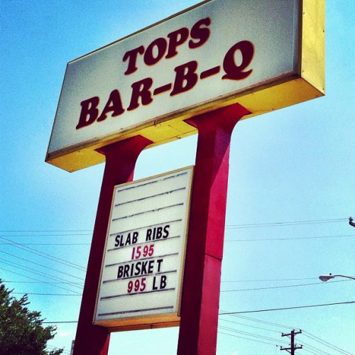 Tops Bar B Q   Number 12 In Memphis, TN
