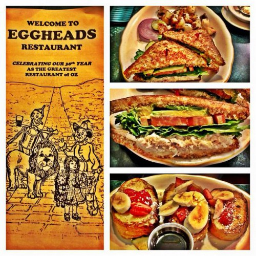 Eggheads Restaurant In Fort Bragg Ca 326 North Main Street