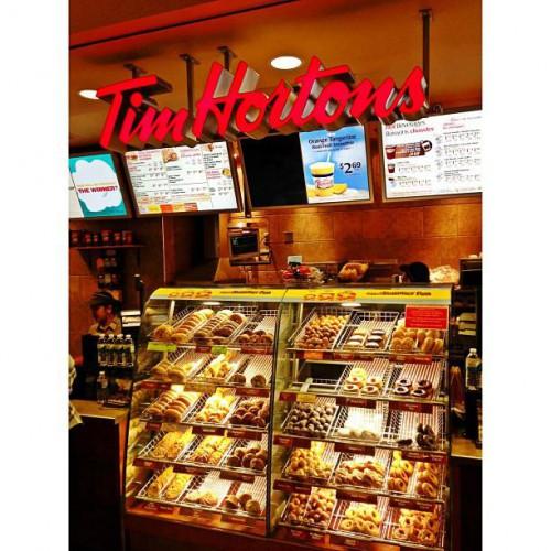 Tim Horton's in Vancouver, BC