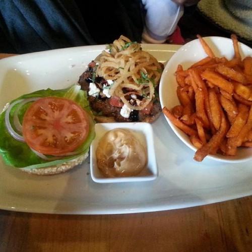 The Burger Cellar in Toronto, ON
