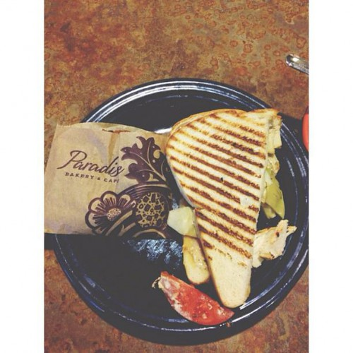 Paradise Cafe Menu Plano