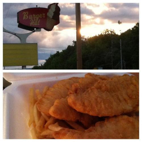 Burger Hut in Ashville, PA