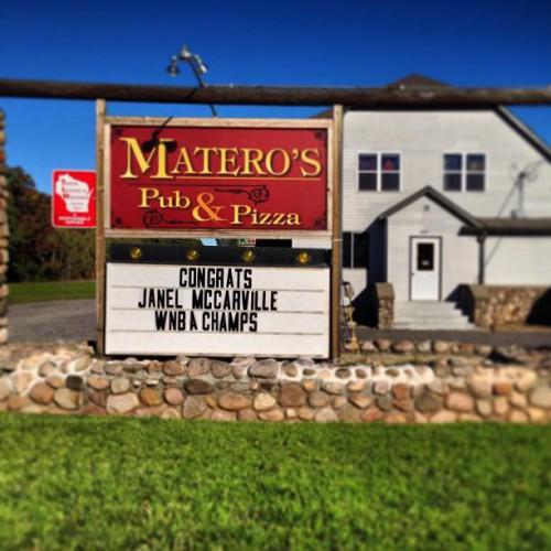 Matero's Pub and Pizza in , WI