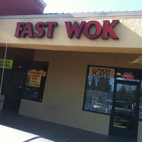Fast Wok in Cameron Park, CA