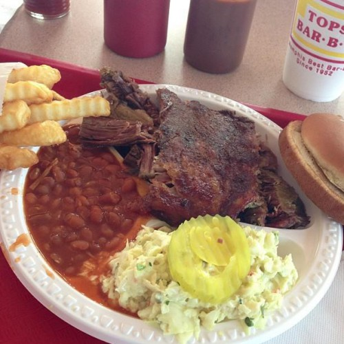 Tops Bar B Q In Millington, TN
