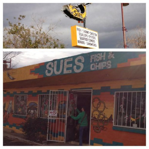 Sue's Fish & Chips in Tucson, AZ