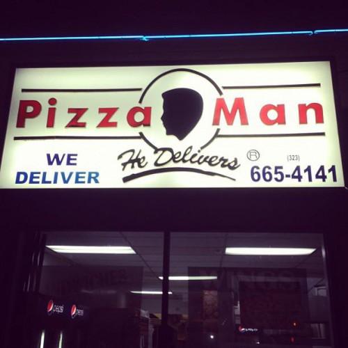 Pizza Man in Los Angeles, CA