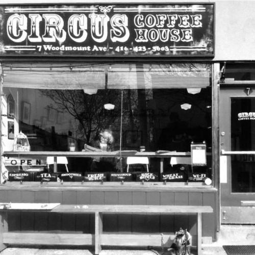 Circus Coffee House in Toronto, ON