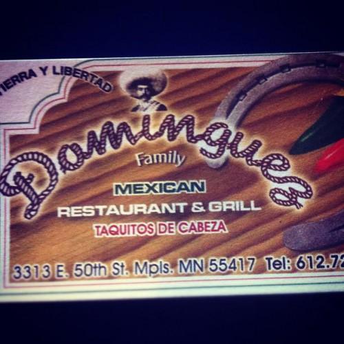 Dominguez Restaurant in Minneapolis, MN