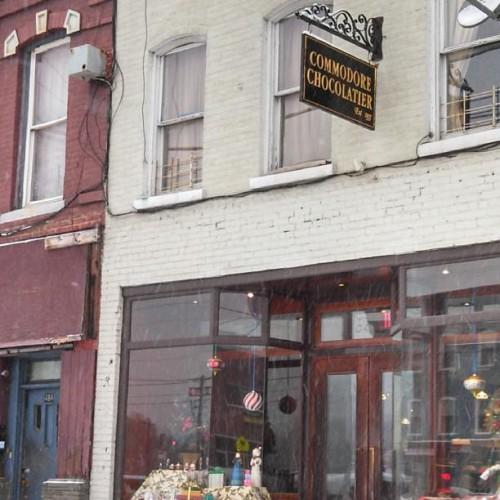 Commodore Chocolatier In Newburgh Ny 482 Broadway