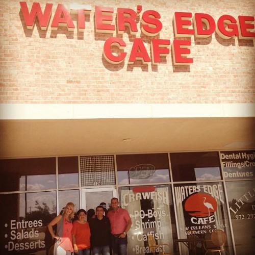 Waters edge cafe in little elm tx 800 w eldorado pkwy for Little elm craft house