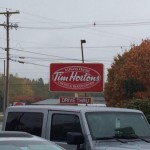 Tim Horton's in Newport, ME