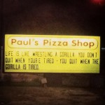 Paul's Pizza Shop in Spring