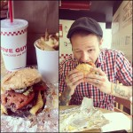 Five Guys Burgers and Fries in Chicago
