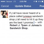 Juneau's Sandwich Shop in Marrero