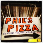 Phil's Pizza in New York
