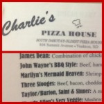 Charlie's Pizza House in Yankton