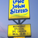 Long John Silver's Seafood in Evansville