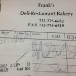 Franks Deli & Restaurant in Asbury Park
