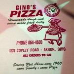 Gino's Pizza in Akron