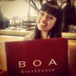 Boa Steakhouse in Santa Monica, CA