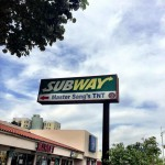 Subway Sandwiches in Edmonton