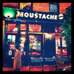 Moustache in New York
