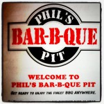 Phils Bar B Que Pit in Black Mountain