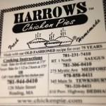 Harrows Chicken Pies in Medford