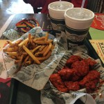 Wingstop Restaurant in Hollywood