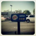 Burger King in Santa Ana, CA