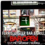 Ferris' Oyster Bar & Grill in Victoria, BC